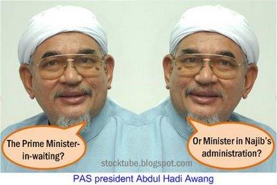 PAS president Hadi Awang