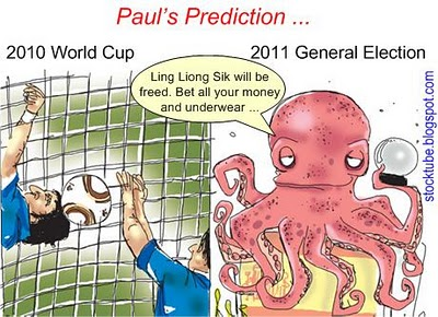 Ling Liong Sik Paul Octopus