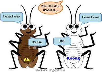 Najib Razak Coward Cockroach
