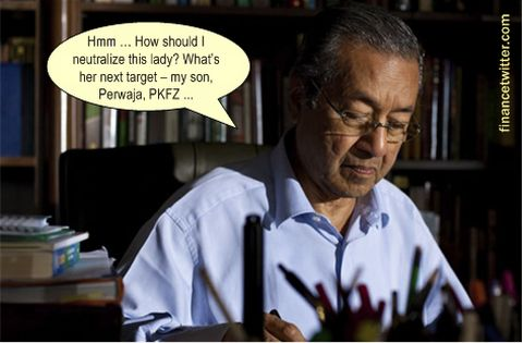 Mahathir Neutralize Rosmah