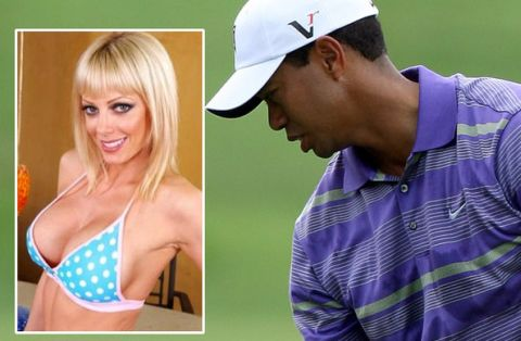 Tiger Woods Holly Sampson