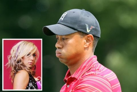 Tiger Woods Julie Postle