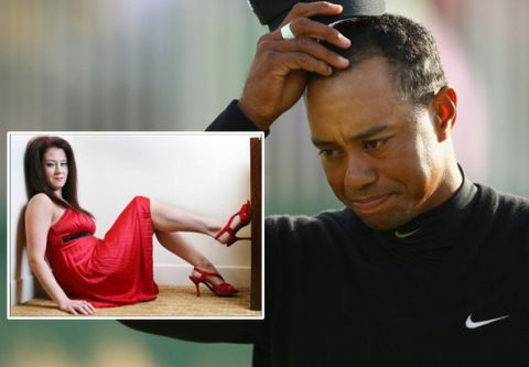 Tiger Woods Mindy Lawton