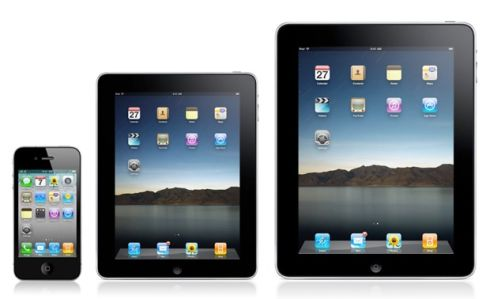 iPad 2.0 Mini iPhone