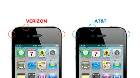Verizon AT&T iPhone Difference