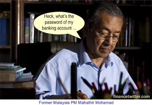 Mahathir Banking Account