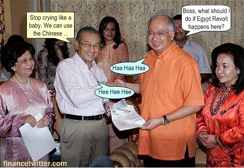 Najib Mahathir