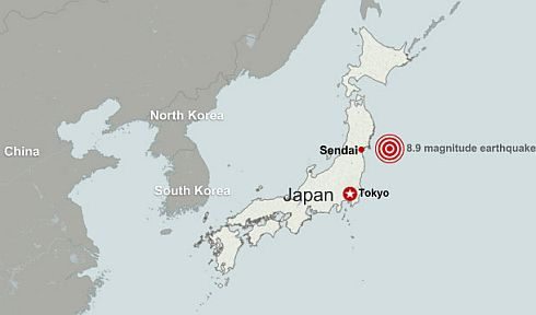 Japan Sendai Earthquake
