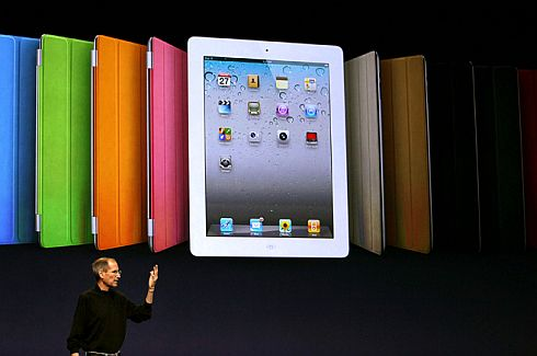Steve Jobs iPad 2 Launch