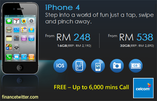 Celcom iPhone 4 Launch