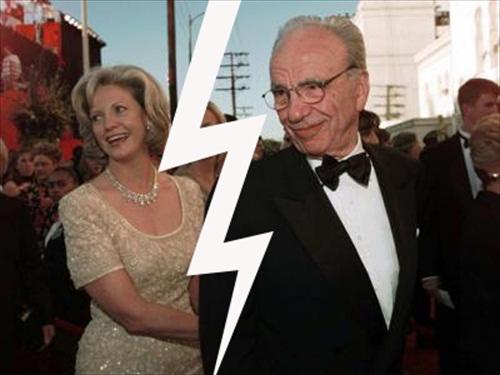 Rupert Anna Murdoch Divorce