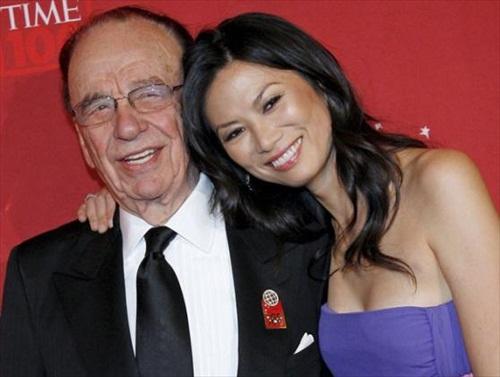 Rupert Murdoch Wendy Deng