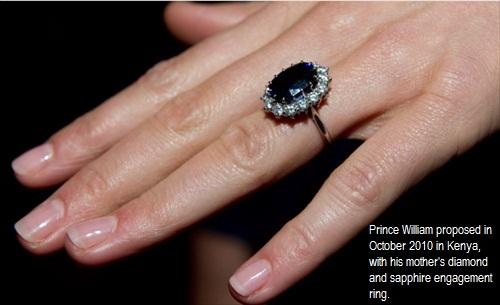 kate william engagement ring. William-Kate Royal Wedding