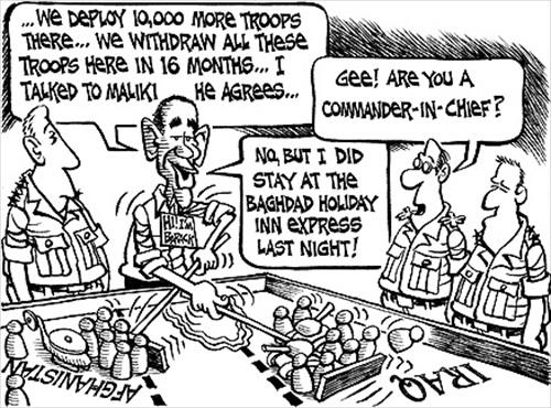 Barack Obama Troops Deployment