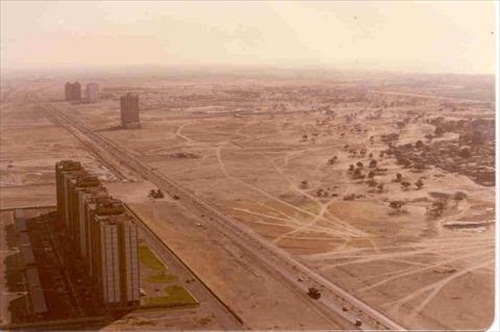 Dubai in 1990