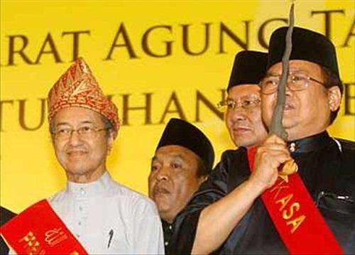 Mahathir's Backed Perkasa