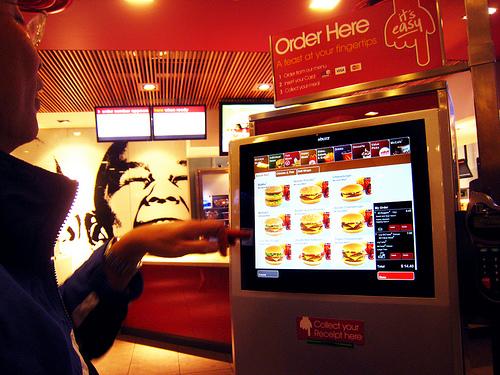 McDonald's Touch Screen Kiosk