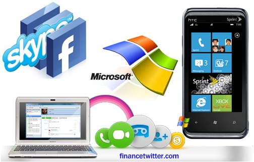 Microsoft Skype Facebook $8.5 billion