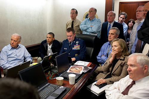 Osama bin Laden Operation - Obama & Team in Situation Room