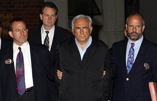 IMF Strauss Kahn HandCuff for Rape
