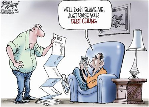 US Debt $14.3 Trillion
