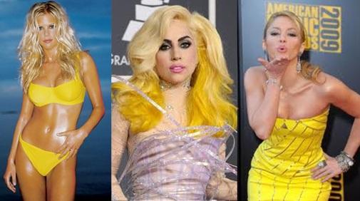 Elin Nordegren Lady Gaga Shakira