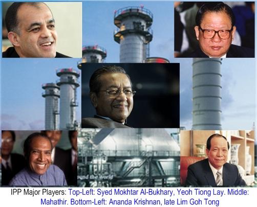 IPP Mahathir Yeoh Tiong Lay Ananda Krishnan Lim Goh Tong Bukhary