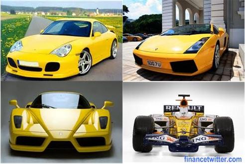 Yellow_Porsche_Lamborghini_Ferrari_Renault_F1