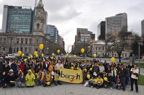 Bersih 2 - Adelaide, Australia