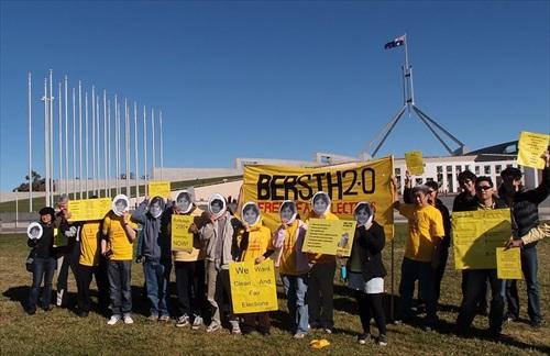 Bersih 2 - Canberra, Australia