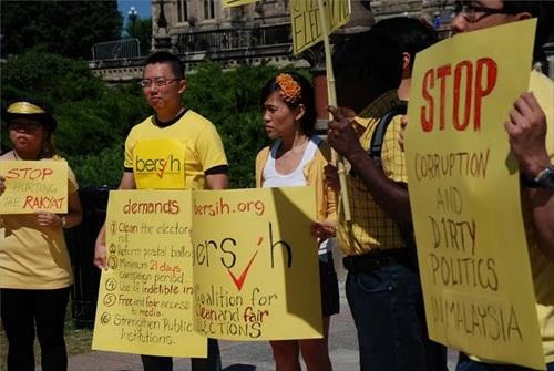 Bersih 2 - Ottawa, Canada