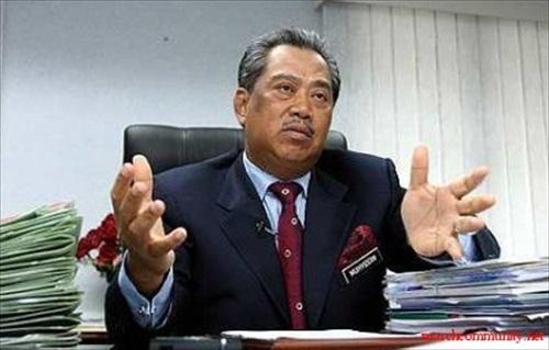 Deputy PM Muhyiddin