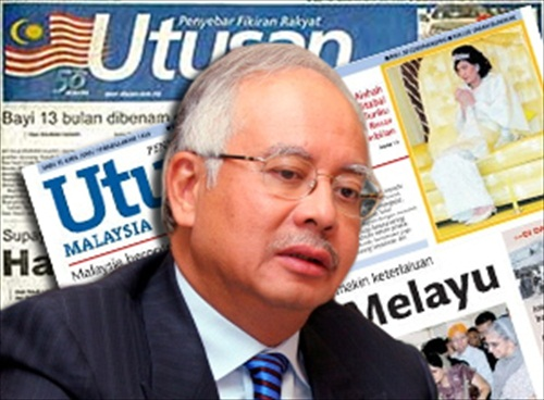 Utusan Malaysia Racist Newspaper