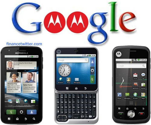 Google Buys Motorola $12.5 Billion