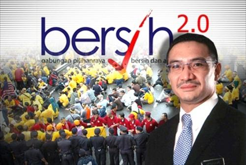 Hishammuddin Bersih 2.0