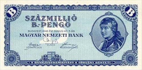 Hungary - Quintillion Pengo, 1946
