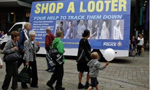London Riot Shop A Looter