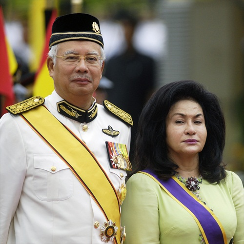 Najib Razak Rosmah