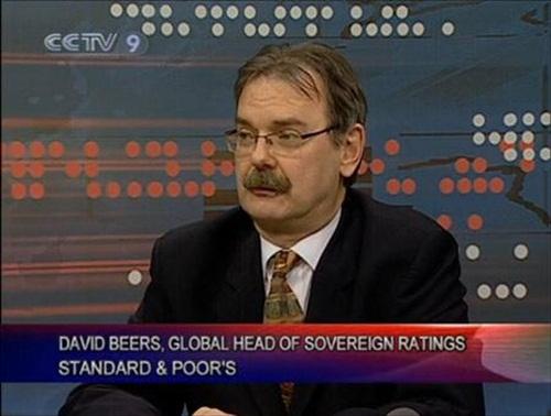 Standard & Poor David Beers Downgrade US Credit Rating