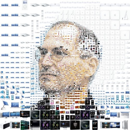 Steve Jobs Digital Image