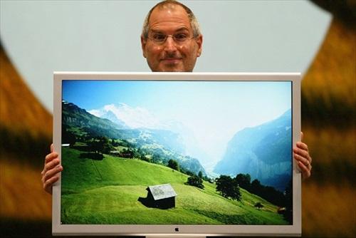 Steve Jobs FlatPanel 2004