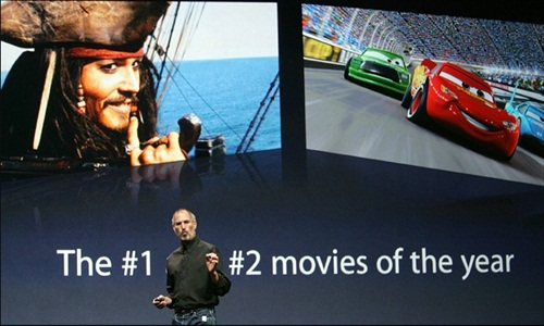 Steve Jobs iTunes video download 2006