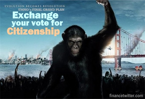 Apes Votes for Citizenship