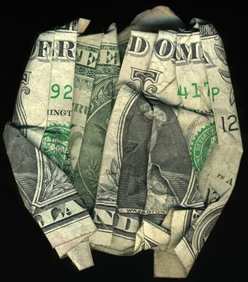 Hidden Message Dollar Bills Freedom Land