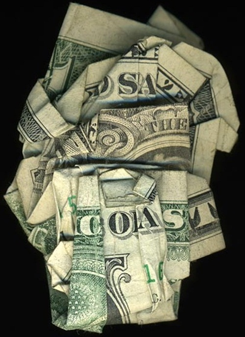 Hidden Message Dollar Bills Save the Coast