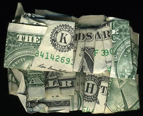 Hidden Message Dollar Bills The Kids Are Alright