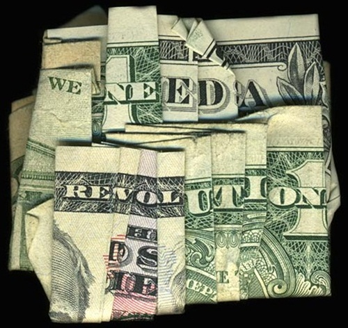 Hidden Message Dollar Bills We Need A Revolution