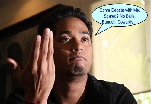 Khairy No Balls Debate