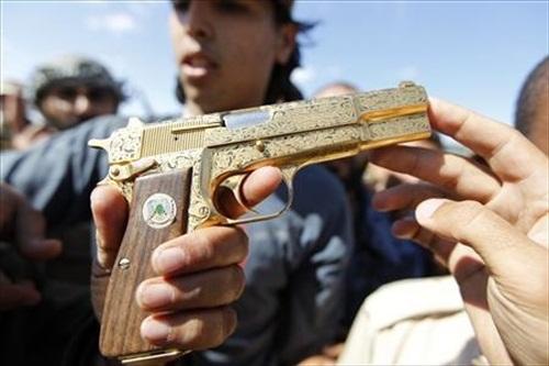 Gaddafi Golden Gun