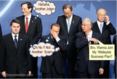 Najib 1Malaysia Scam